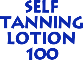 SELF TANNING LOTION 100